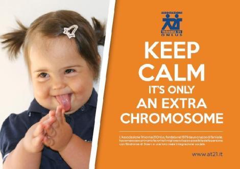 Manté la calma, només és un cromosoma extra