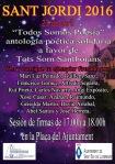 Cartel Sant Jordi Poesía