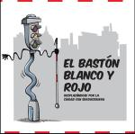 baston rojo blanco